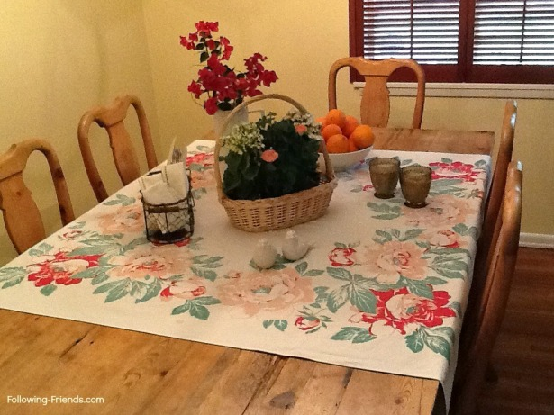 Dining Room Table Following-Friends
