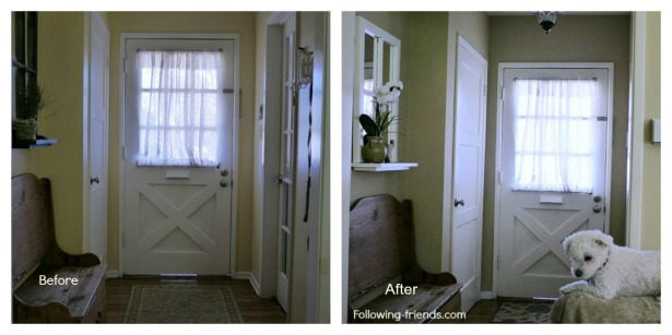 Entry before after