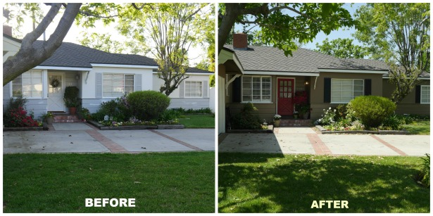 Before After Exterior Paint