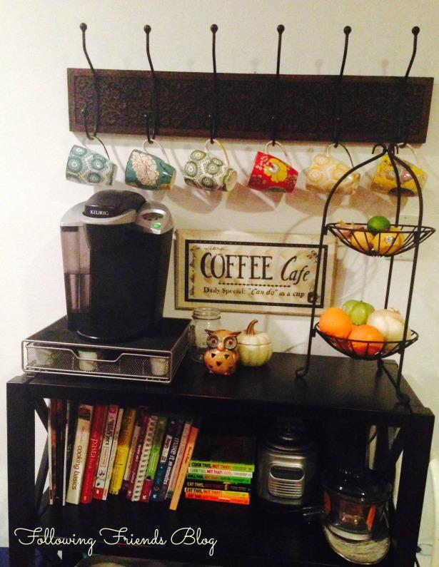 Coffee Station Following-Friends Blog