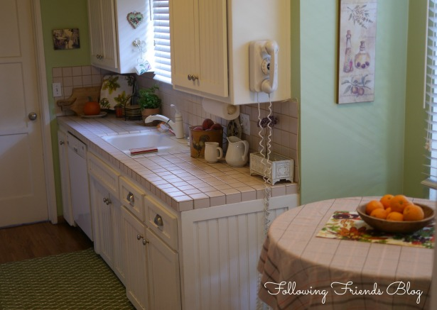 Fall Kitchen Following Friends Blog