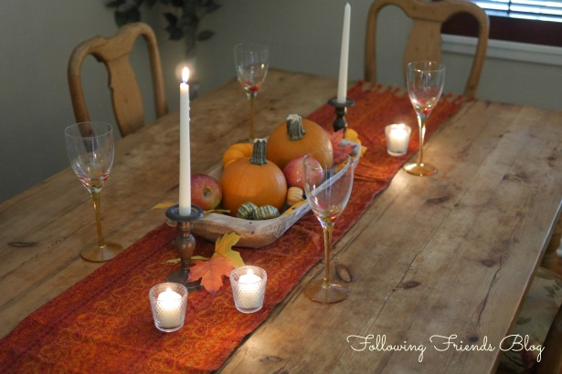 Fall Table Full View