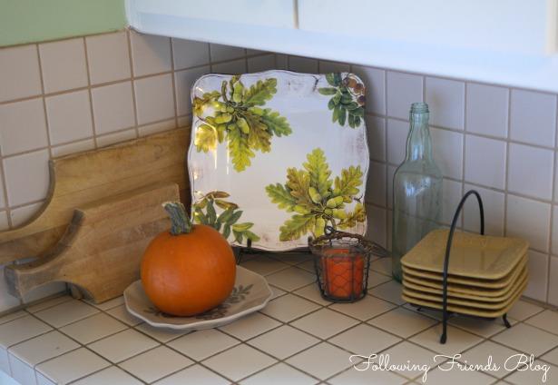 Kitchen counter Following Friends Blog