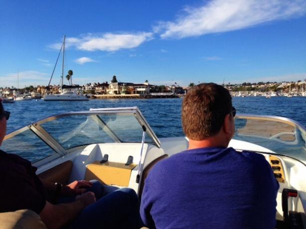 Mark on the Newport Beach Boat