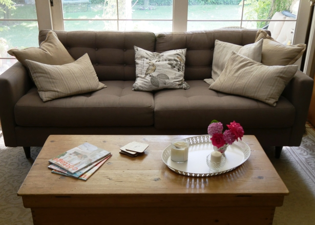 Couch and Pillows - Following-friends Blog