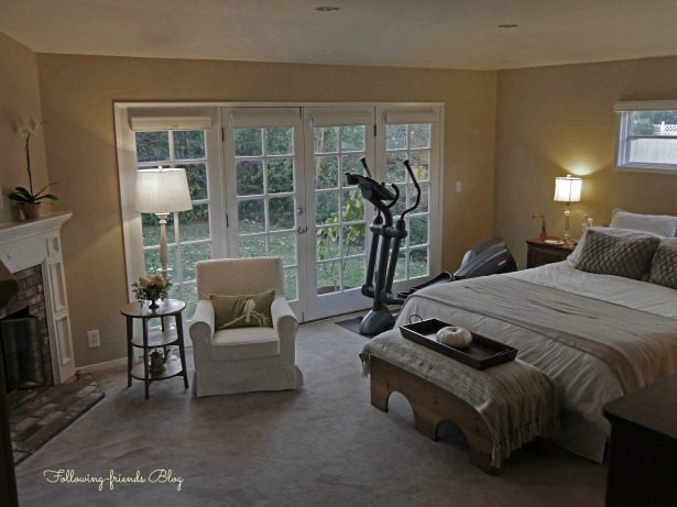 Master Bed French Doors