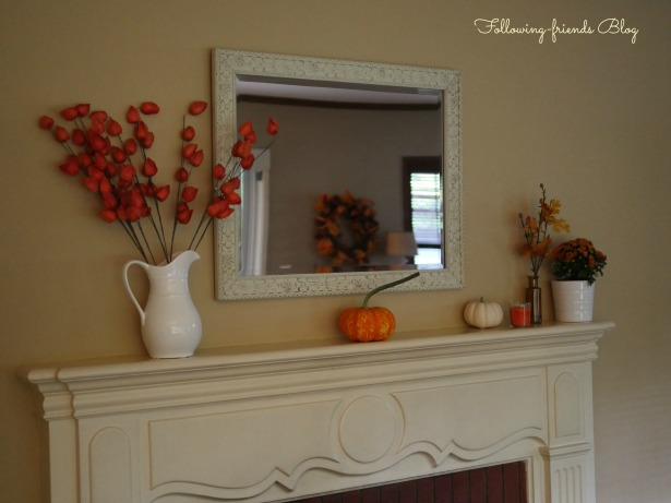 Fall Mantle 2014 Following-friends Blog