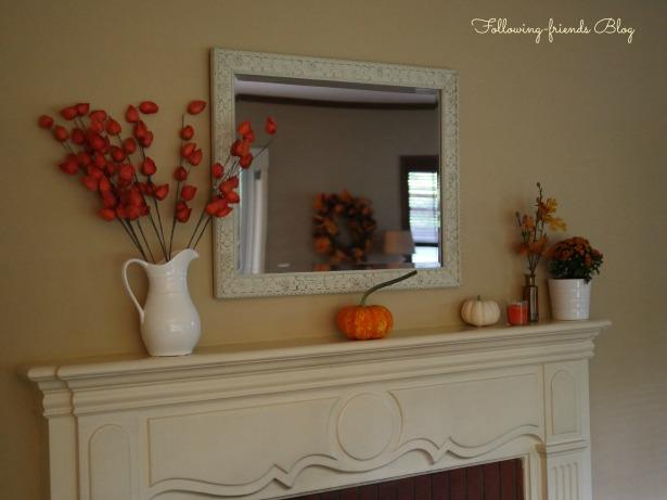 Fall Mantle 2014 Following-friends Blog
