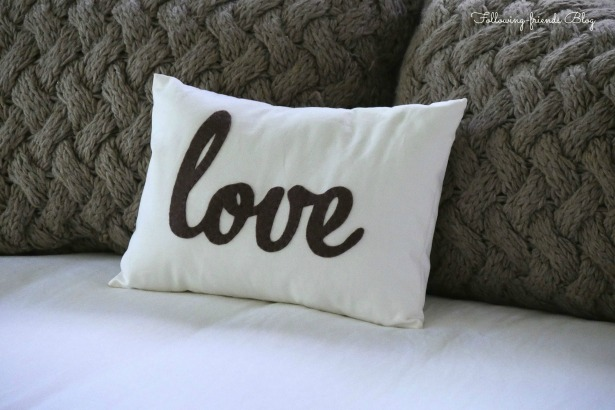 Love Pillow Following-friends Blog