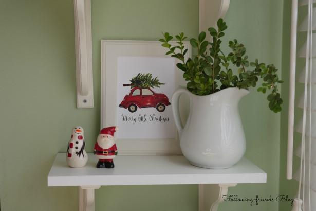 Christmas car CU