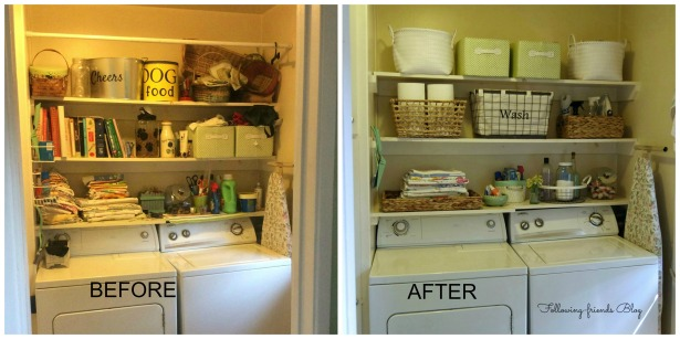 Before After Laundry Room